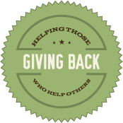 Giving Back Badge